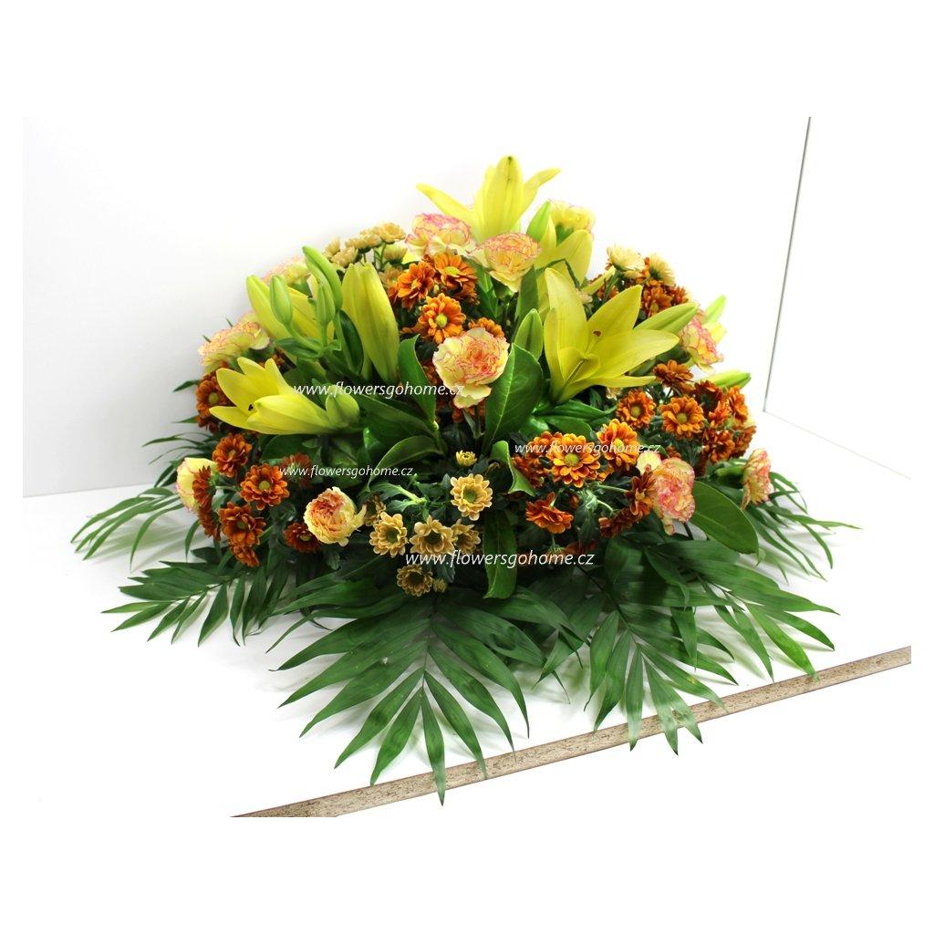 Kytice na pohřeb