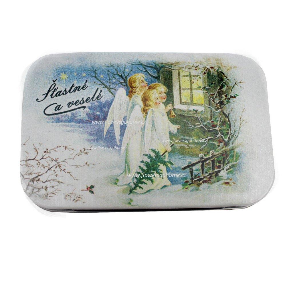 Vánoční mýdlo anděl