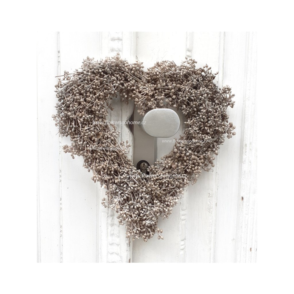 Srdce z plodu eucalyptu