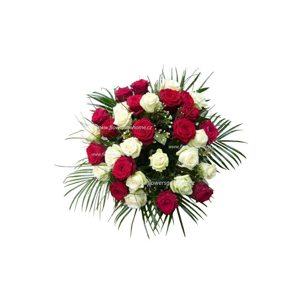 Kytice růží 30 ks