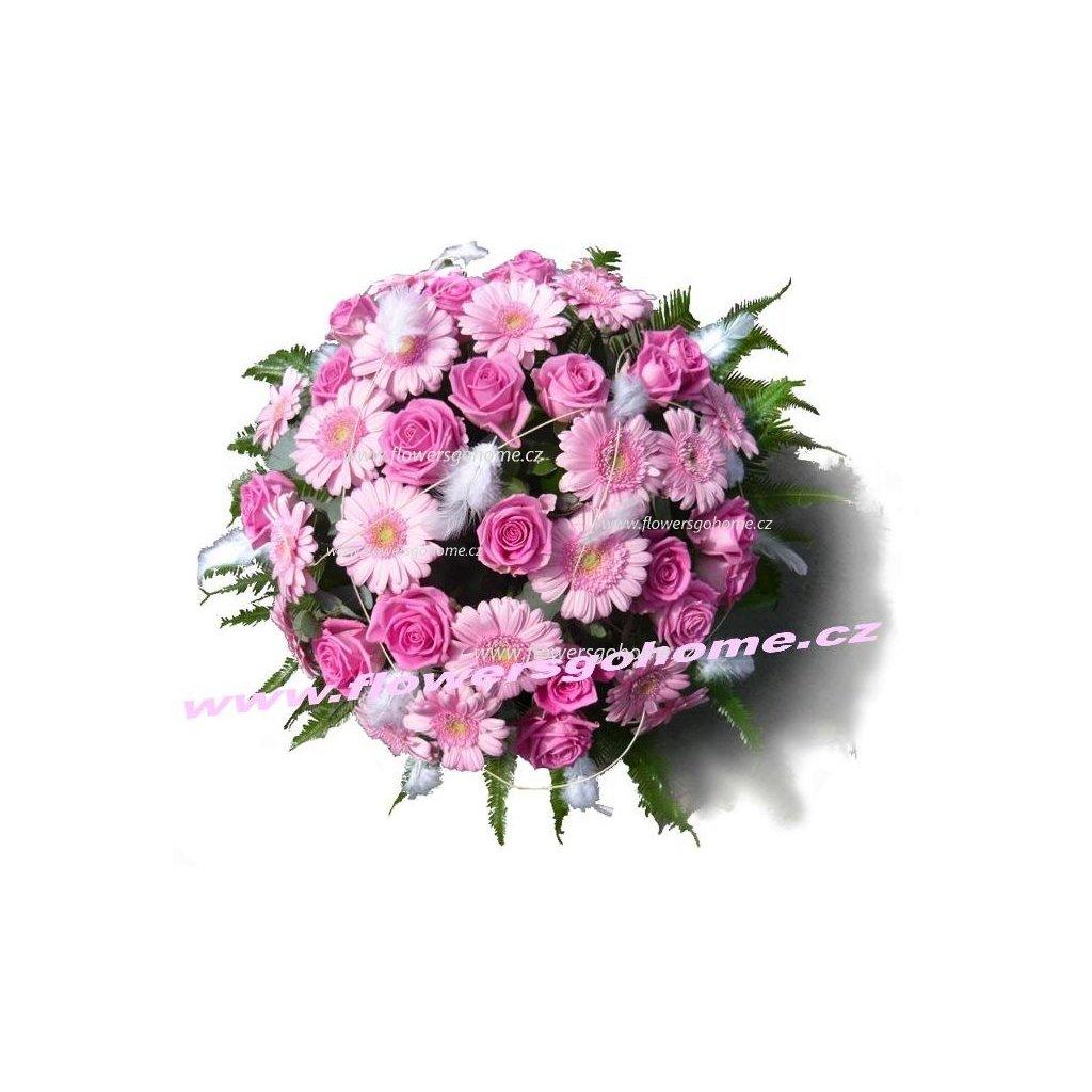 Květiny k narozeninám