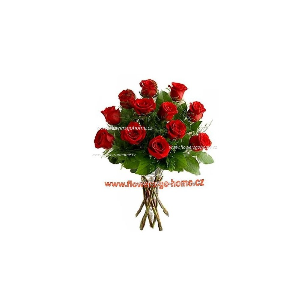 Kytice červených růží