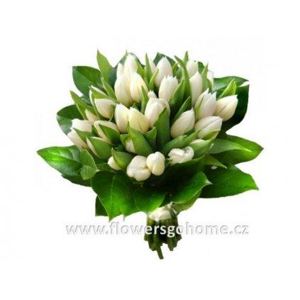 Svatební kytice z tulipánů