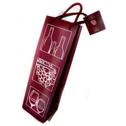 Dárková taška víno
