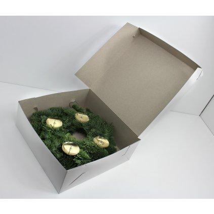 Krabice na věnec 25cm