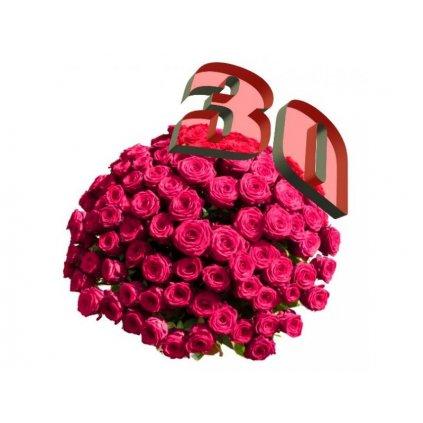 Červené růže k Valentýnu