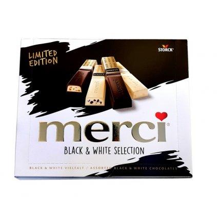Merci Black and White