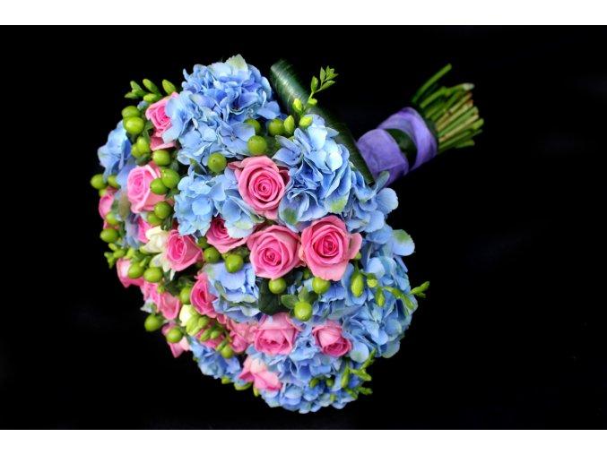 Svatební kytice z Hortenzií