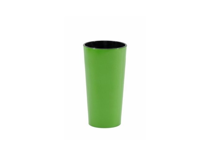 Zelená váza plast
