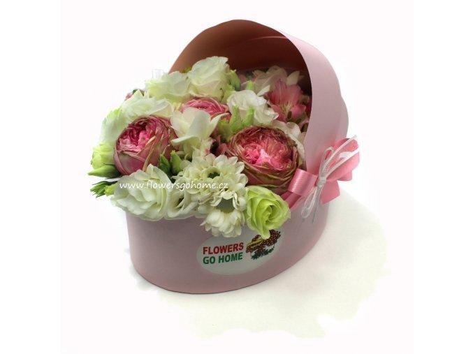 Květiny k narození miminka