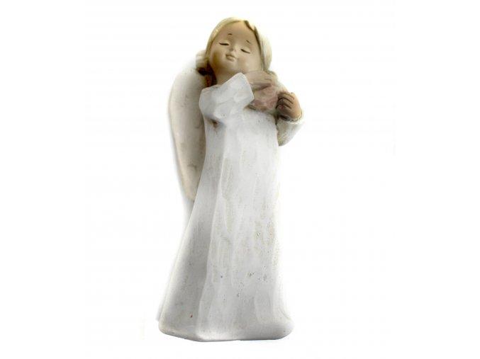 Anděl keramický