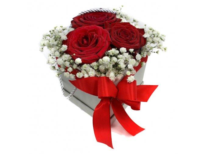 Květiny v krabičce