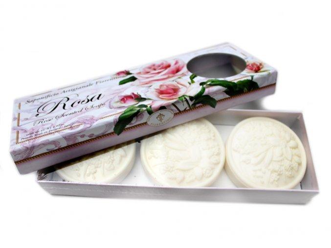 Dárkové mýdlo Roseto