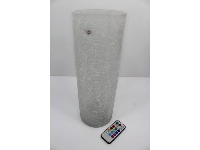 LED váza Frozen