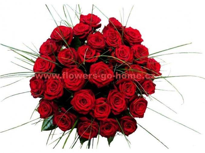 Kytice 30 růží