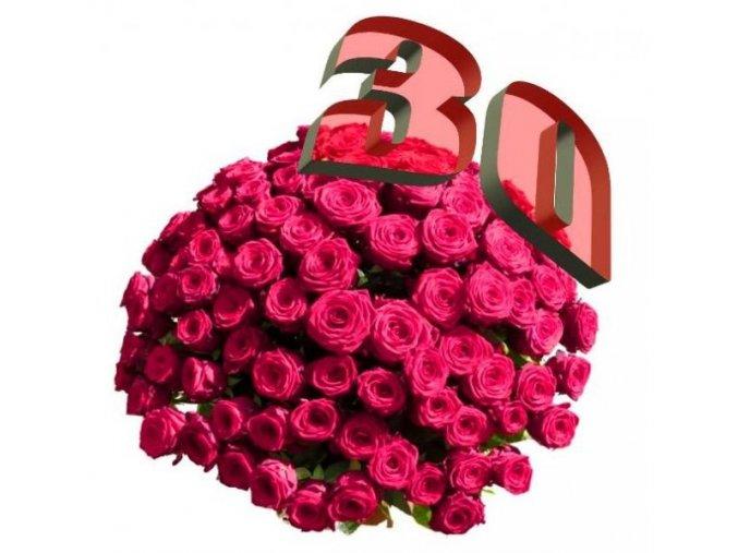 30 růží
