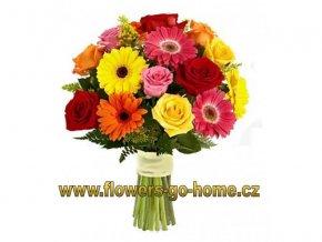 Rozvoz květin - barevná