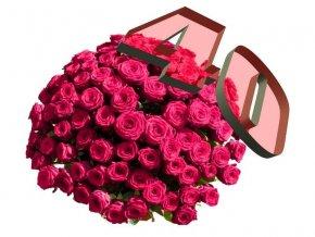 40 růží