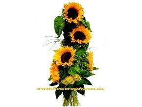 Kytice slunečnic