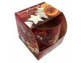 Vánoční svíčka Gingerbread