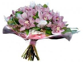 Vánoční kytice z orchidejí