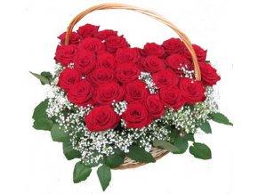 Růže k Valentýnu