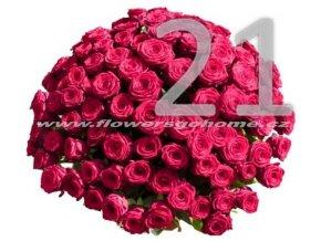 21 růží