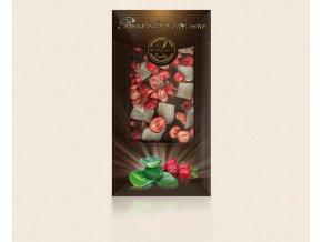 Rozvoz květin - čokoláda s ovocem