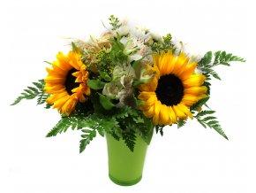 Květina ze slunečnic