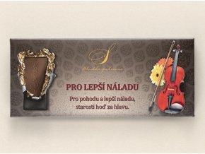 Belgická čokoláda s věnováním