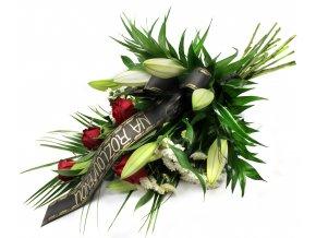 Květina na pohřeb