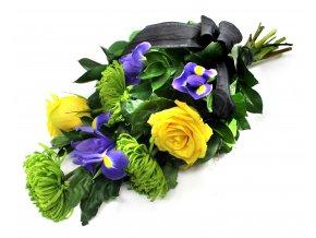 Smuteční kytice na položení