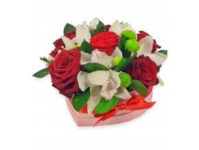 Flowerbox - růže v krabici