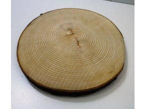 Dřevěný koláč 27 cm