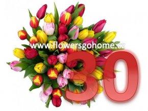 30 tulipánů