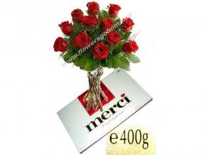 Kytice 15 růží