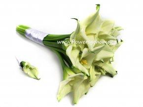 Svatební kytice z Kal