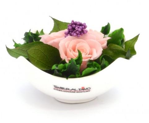 stabilizovaná růže Barva: Light Pink