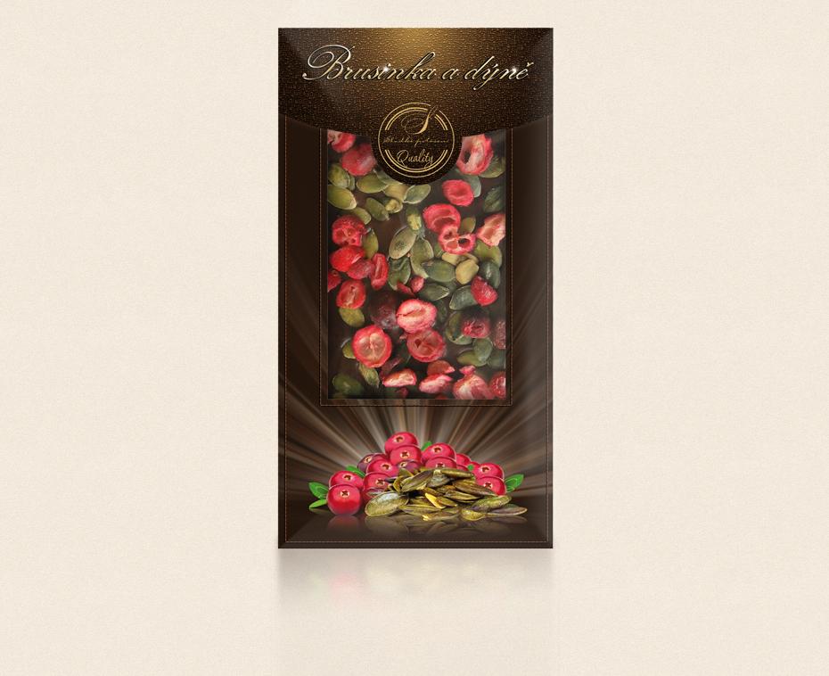 Belgická čokoláda s posypem