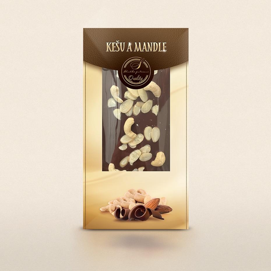 Belgická čokoláda s ovocem