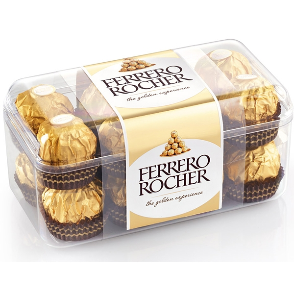 Ferrero Rocher Hmotnost: 200g