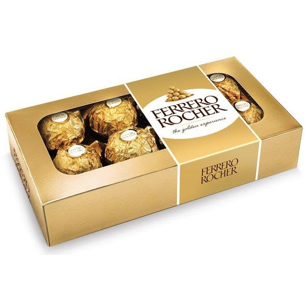 Ferrero Rocher Hmotnost: 100g