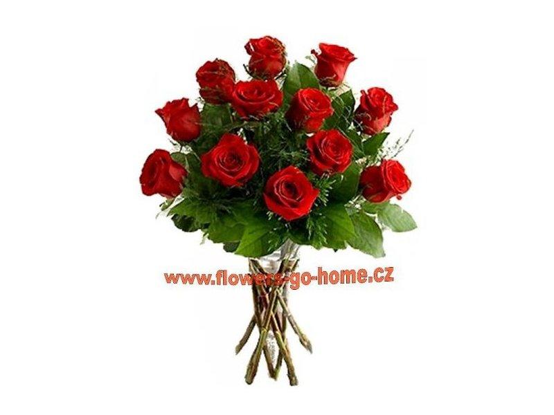 Kytice růží Velikost: 15 ks