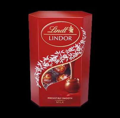 čokoláda Lindor Druhy: WHITE
