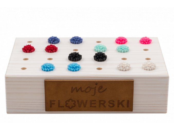 flowerstand bílý flowerski