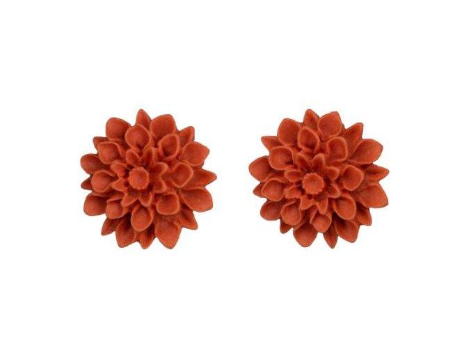 pumpkin nausnice flowerski