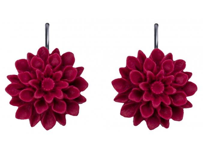 french bordo cervene visaci nausnice flowerski