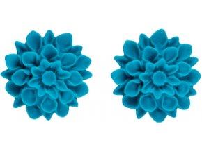 summer ocean flowerski nausnice