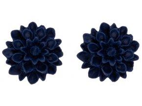 blueberry flowerski nausnice