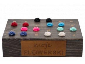 flowerstand černy flowerski